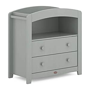 Boori Universal Curved Changing Table, Pebble   9