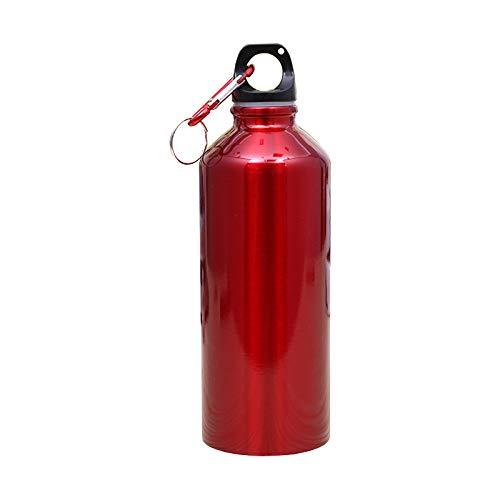 TENGGO 600Ml Aluminiumalkohur-Wasserflasche Mit Carabiner Outdoor-Sportflasche