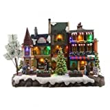 Pueblo de Navidad luminoso Dorfill