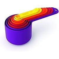 Joseph Joseph Nest Measure Measuring Cup Set, Classic - Multi-Colour, 8 Piece