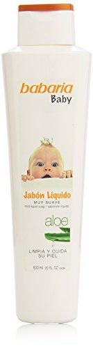 BABARIA BABY - jabon líquido de aloe vera - 600 ml