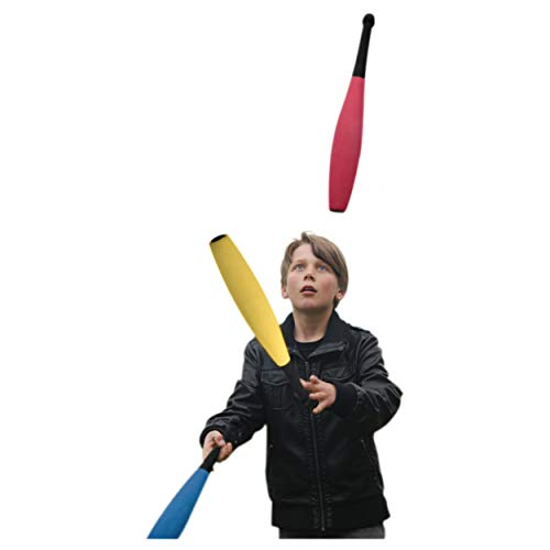 Jonglierkeulen Jonglier Keulen Jonglage Jonglieren aus Moosgummi 51,5 cm 3 Stück