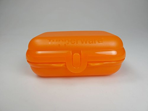 TUPPERWARE To Go Twin orange Brotdose Behälter Lunchbox Twin klein Größe 2 15508