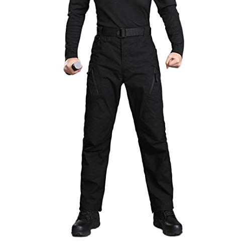 ♚ Pantalones Militares para Hombres,Pantalones de Carga de Trabajo táctico al Aire...