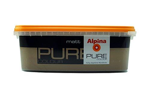 ALPINA Pure Colour, 2,5 L. Wandfarbe, Matt (Noisette)