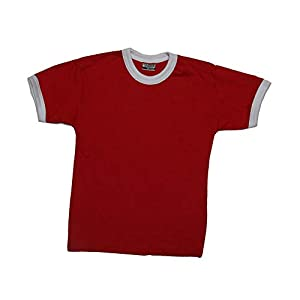 Clique Nome Kids T-Shirt, Red/White, Größe:120