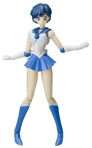 "Bandai Tamashii Nations S.H. Figuarts Sailor Mercury ""Sailor Moon"" Action Figure"