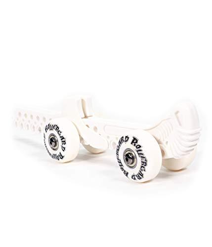Schanner Rollergard - Funda Protectora para Patinaje artístico sobre Hielo con Ruedas, Color Blanco