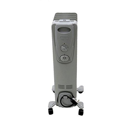 31ZgqGe5x1L. SS500  - Oypla 1000W 5 Fin Portable Oil Filled Radiator Electric Heater