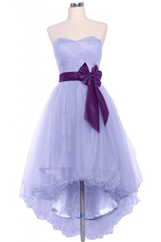 Sunvary 2014-Hi-Lo Fascia per Cocktail, senza Homecoming abiti da damigella d'onore, motivo: Tesoro Lilac
