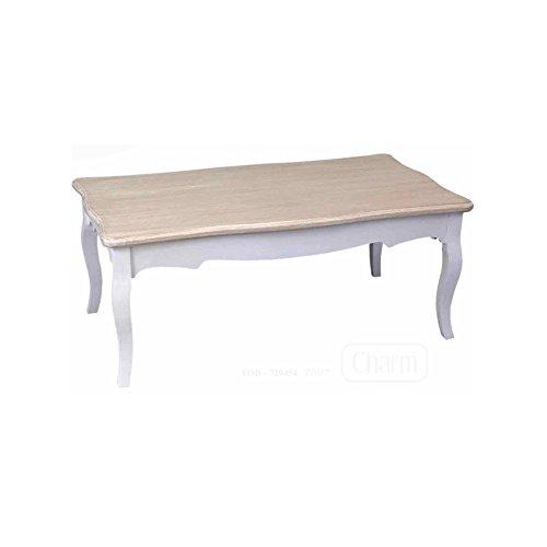 WEBMARKETPOINT Table Salon Bois Basse rectangulaire cm 110 x 60 x 45 h