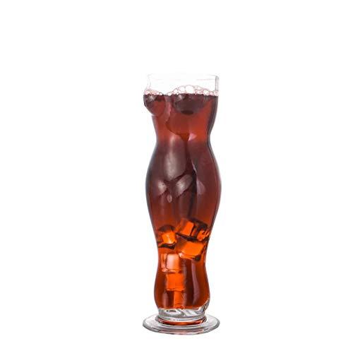 Corps Beauté Coupe Bar Sexy Bière Tasse Créative Verre Verre Personnalité En Verre Tasse À Jus Tasse À Boisson