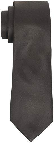 SELECTED HOMME Herren SLHNEW PLAIN TIE 7CM NOOS B Krawatte, Braun Demitasse, One Size