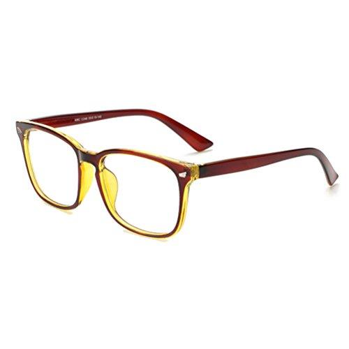 Zhhlaixing Universal Moda Flat Radiation-Protective Eyeglasses Frame Glasses Unisex GY-8082 Spectacles