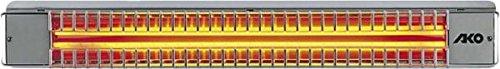 Glen Dimplex AKO Terrassenstrahler eds UWS 75 RD/1E 1300W 72x10,5x10 Heizstrahler 4011652500219