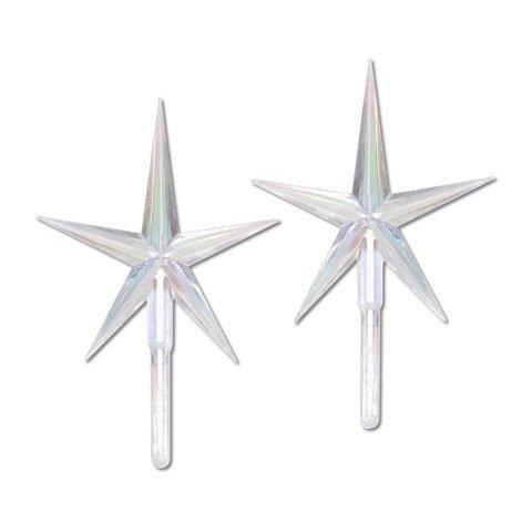 Bulk Buy: Darice DIY Crafts Ceramic Tree Accessories Star AB 3-7/8 x 2-5/8 inch P0679 by Darice Bulk Buy - Ab 2.625