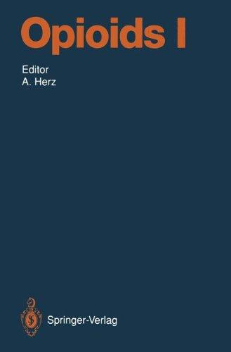 Opioids I (Handbook of Experimental Pharmacology)