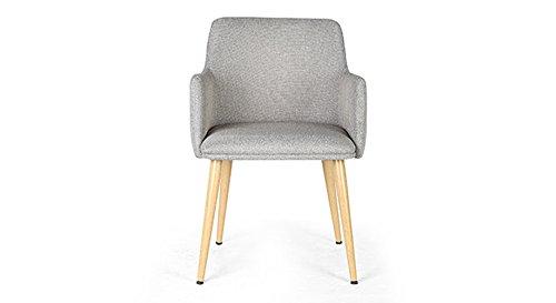 Urban Ladder Murray FNSTCH51GY30129 Lounge Chair (Light Grey)