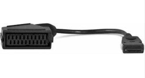 fernseher mit scart anschlu  TechniSat Mini SCART-Adapter/kompatibel zu ausgewählten ISIO-Netsehern und Receivern (TechniTwin ISIO, TechniPlus ISIO, TechniVision ISIO, Digit ISIO S2), schwarz