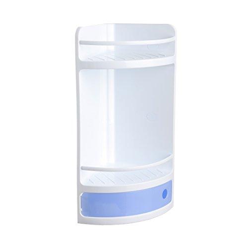 Tatay 4432000 Rinconera con Cajón, Plástico y Polipropileno, Azul, 20x20x50 cm