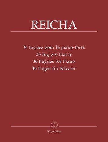 36 fugues pour le piano-forté | Reicha, Antonin (1770-1836)