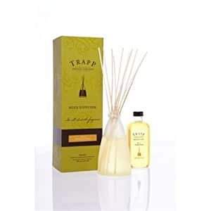 Orange Vanilla No 4 - Luxury Reed Diffuser Kit Gift Boxed - Trapp Candles