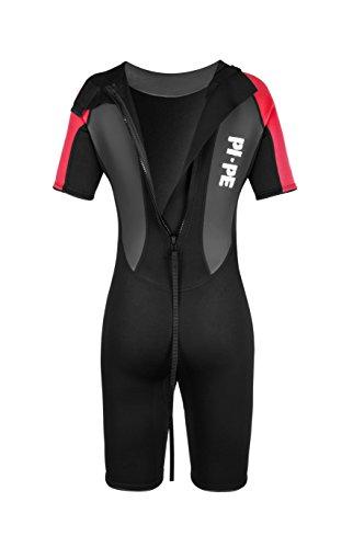 Active Spring Short Sleeve Neoprenanzug, rot/schwarz - 5