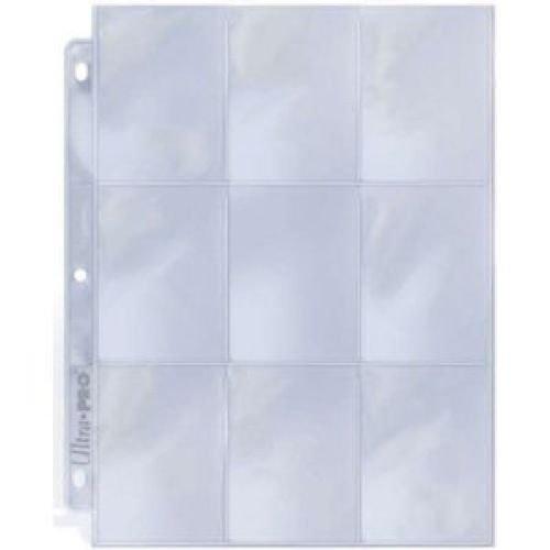 Ultra Pro Silver Series A4-Hüllen für Sammelkarten, 25 Seiten à 9 Fächer