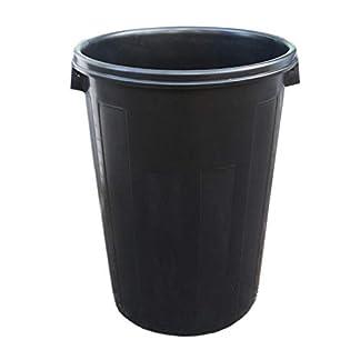 Denox M87578 – Cubo industrial plastico negro 95 l