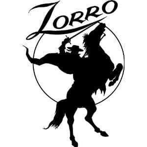 Sticker Zorro 130x90 cm Réf 74680