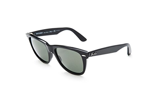 Ray-Ban RB2140 901/58 Schwarz RB2140 Wayfarer Sunglasses Polarised Fishing, Driving Lens Category 3 Size 50mm