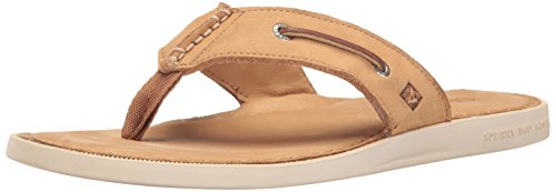 Sperry Thong Topsider Männer (Sperry Top-Sider Men's a/o Sandal Thong (Box) Flip Flop, Sahara, 14 M US)
