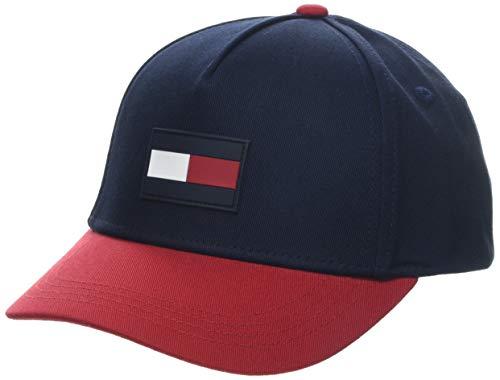 Tommy Hilfiger Jungen Big Flag Cap Kappe, Mehrfarbig (Corporate 902), (Herstellergröße: XL)