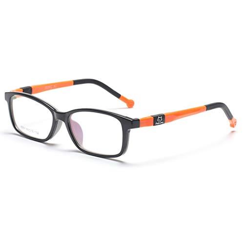 Zebuakuade Kinder-Brillen aus Silikon mit Brillen für Frauen, Männer (Color : Yellow)