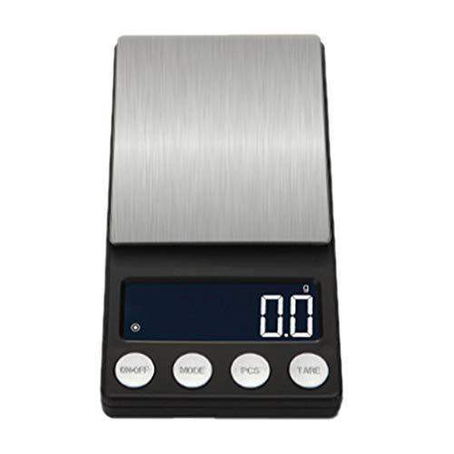 Tianya 0,1/0,01 Gramm Präzision Schmuck Elektronische Digitalwaage Gewicht Taschenwaage 500g / 1000g