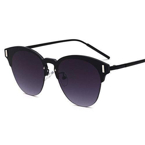 ANSKT Sonnenbrillen Metallhalbrahmen Sonnenbrillen Herren und Damen U