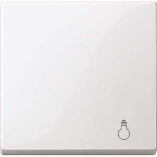 Merten MEG3302-0319 Wippe mit Kennzeichnung Licht, polarweiß glänzend, System M -