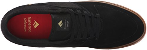 Emerica the Hsu Low Vulc, Scarpe da Skateboard Uomo, Nero Nero