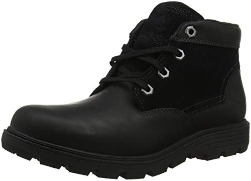 Timberland Men s Walden Park Classic Boots   Black TBL Forty with Suede 1   8  42 EU