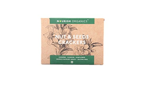 Nourish Organics Nuts And Seeds Crackers, 150gm