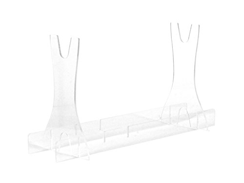 BEGADI Langwaffen Waffenständer/Waffenhalter -verstellbar-, transparent (Made in Germany)