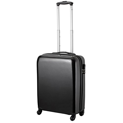 Cabin Max Icon 2.0 Valise trolley cabine 4 roues Abs rigide 55 x 40 x 20 cm (noir)