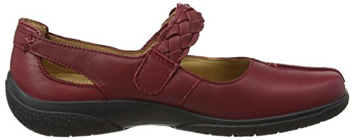 Hotter Shake - Shake/Std/Lea, Scarpe Mary Jane Donna Red (Ruby)