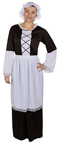 ILOVEFANCYDRESS I love Fancy Dress ilfd4048X L Damen Tudor Maid Kostüme - Tudor Damen Kostüm