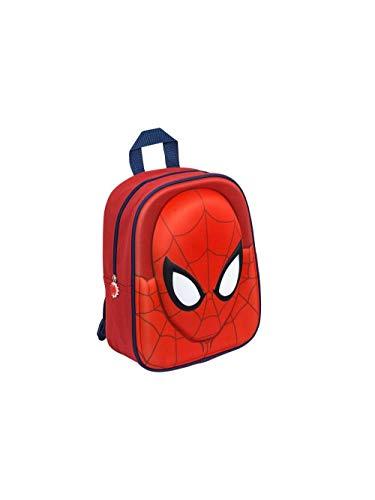 Marvel spider-man uomo ragno zaino 3d asilo scuola
