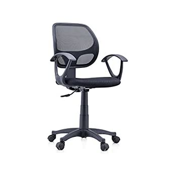 Urban Ladder Eisner Low Back Study-Office Computer Chair(Black)