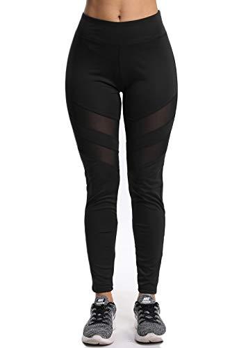 FITTOO Mallas Pantalones Deportivos Mujer Yoga Leggings de Alta Cintura  Elásticos y Transpirables para Running Fitnes32k 92fea6a021fb