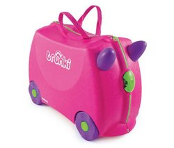 "Trunki Trixie Trunki Maleta–Rosa (9220006) (Gadgets para niños 5055192200061) ""para niños de 3a 6años, este TRIXIE Trunki suitcasehas Fee Dodo un diseño, que su niño..."
