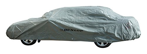 Dunlop Vollgarage Fahrzeugabdeckung/Universell, wetterfest Größe XL 534 x 178 x 120cm Grau