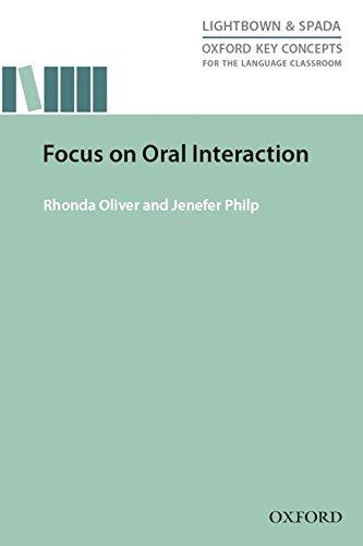 Focus on Oral Interaction (Material de Teacher Training)